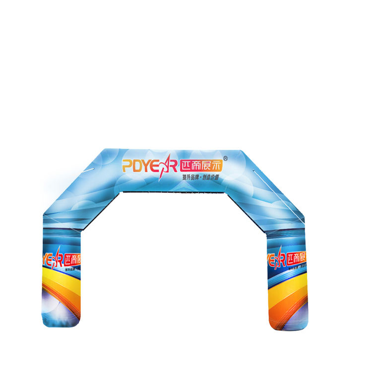 RTS Shop 3M custom outdoor inflatable entrance start finish line arch for advertising