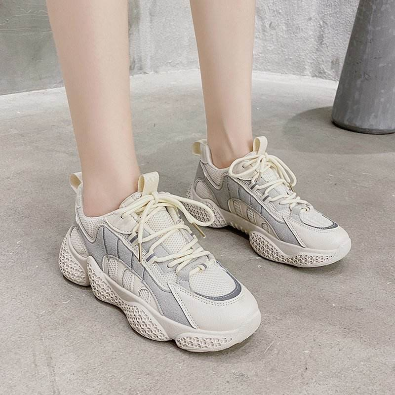 Portable wholesale factory spot affordable price sport shoes ladies sneakers casual shoes for sport