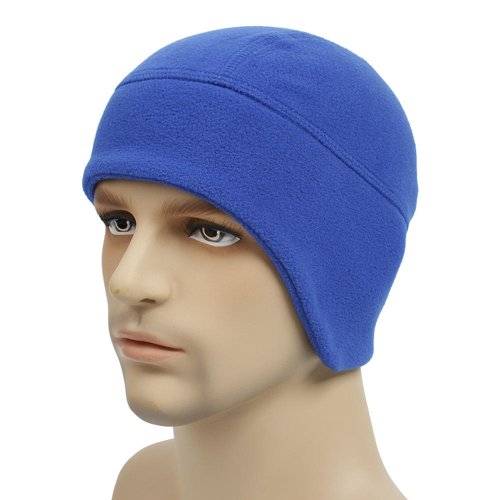 Q28 Mens Solar Fleece Aviator Bomber Beanie Hat Lining With Ear Flaps Ski Winter Hats