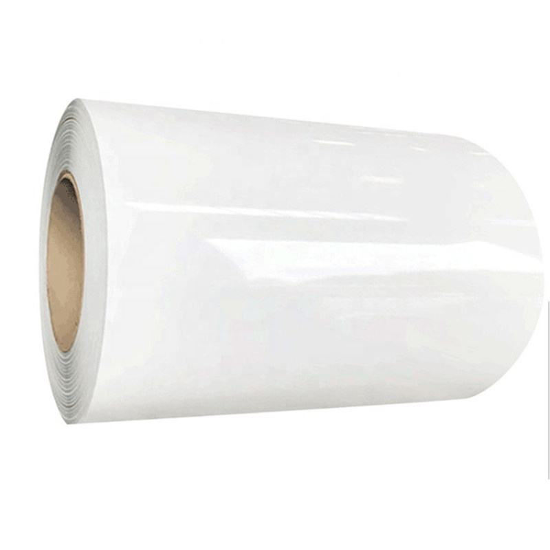 White Color Code 9016 Coated Painted Metal Roll Prepainted Coil Galvanized Zinc Coating PPGI PPGL Steel Sheets