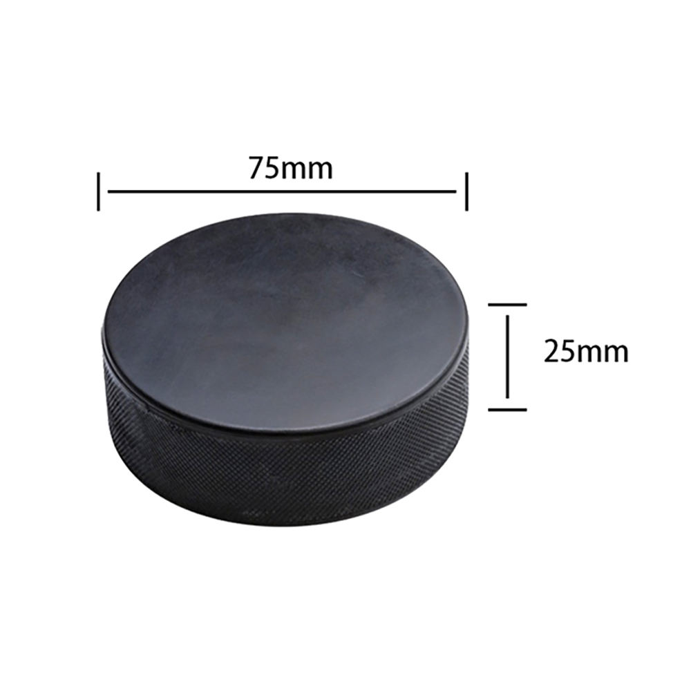 High Quality Professional Official Size Rubber Ice Hockey Puck