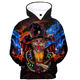 Factory Customized Popular 3D Sublimation Print Hoodie Sweatshirt Plus Size Unisex Pullover