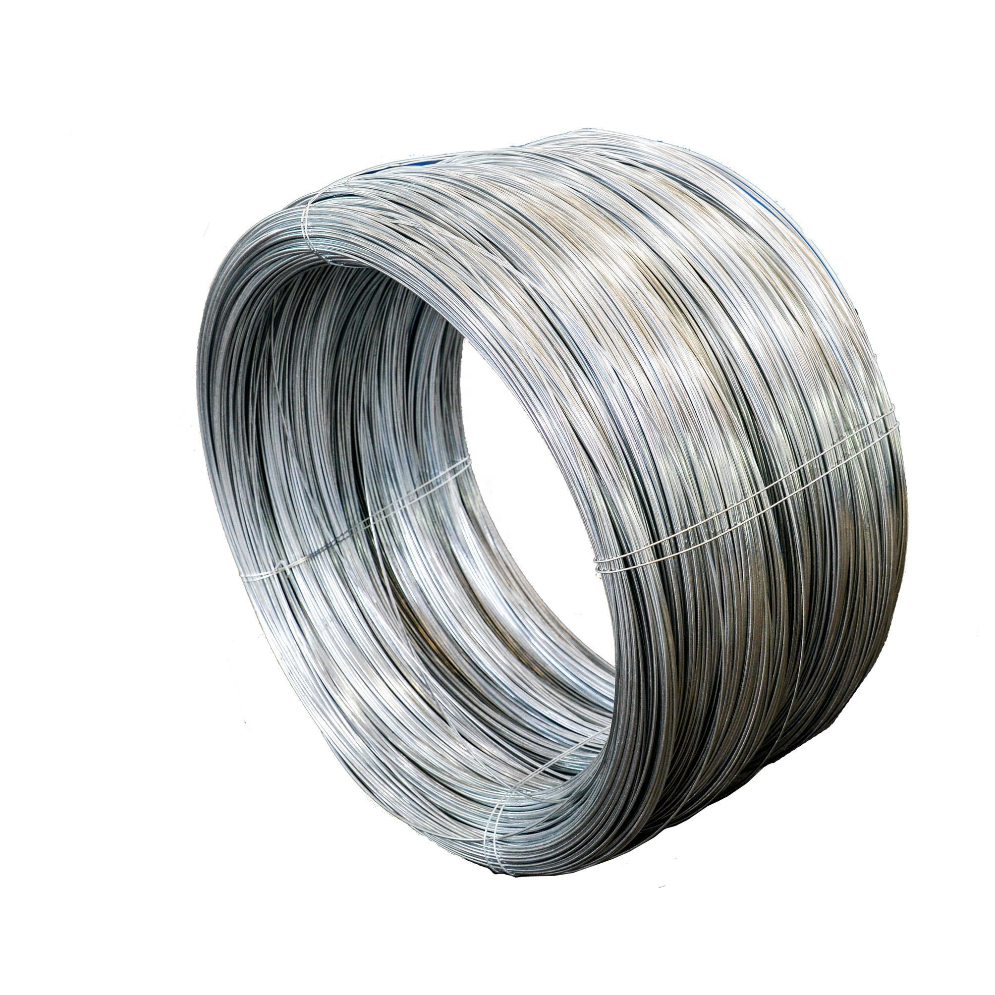 hot dipped galvanized soft binding iron wire 1.6mm (factory)