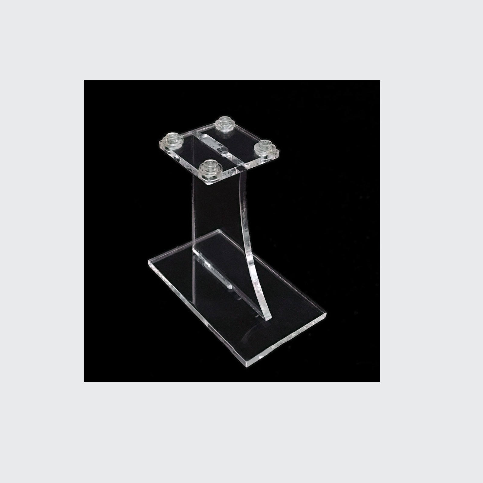 Premium Clear Acrylic Tie Display Unit to Hold 30 Ties