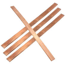 Copper busbar strip for grounding system