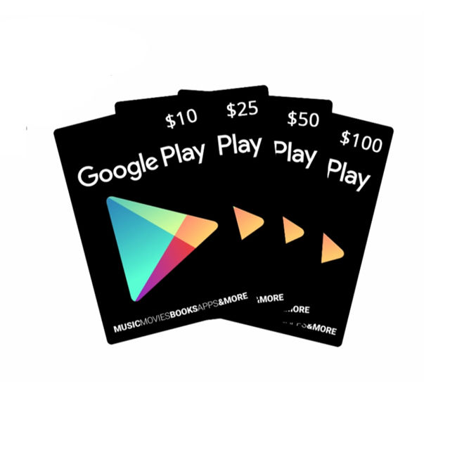 Gmail loaded US Region Google Play Gift Card 100$