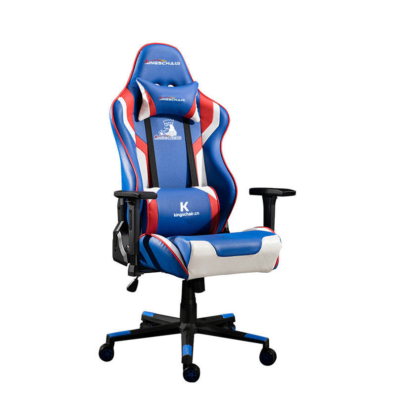 Customize Embroidery Logo Sillas Gamer RGB Music Speaker Office Gaming Chair