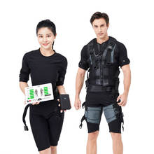 Wireless EMS  Body Muscle Stimulator Training Fitness Machine Suit