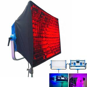 Yidoblo AI-3000C 300W 30000LM RGBW LED Panel Light Photography Camcorder Video Light Kit with SoftBOX Film Camera Lighting