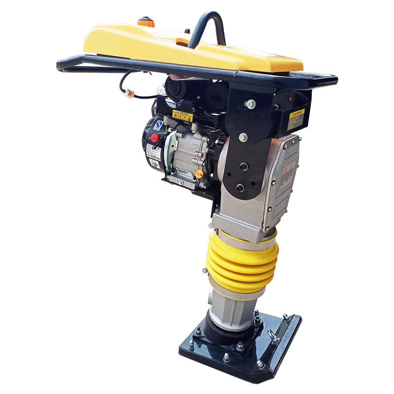 Petrol Powered Impact Tamping Rammer electric rammer tamper jumping jack wacker Earth Rammer Machine price