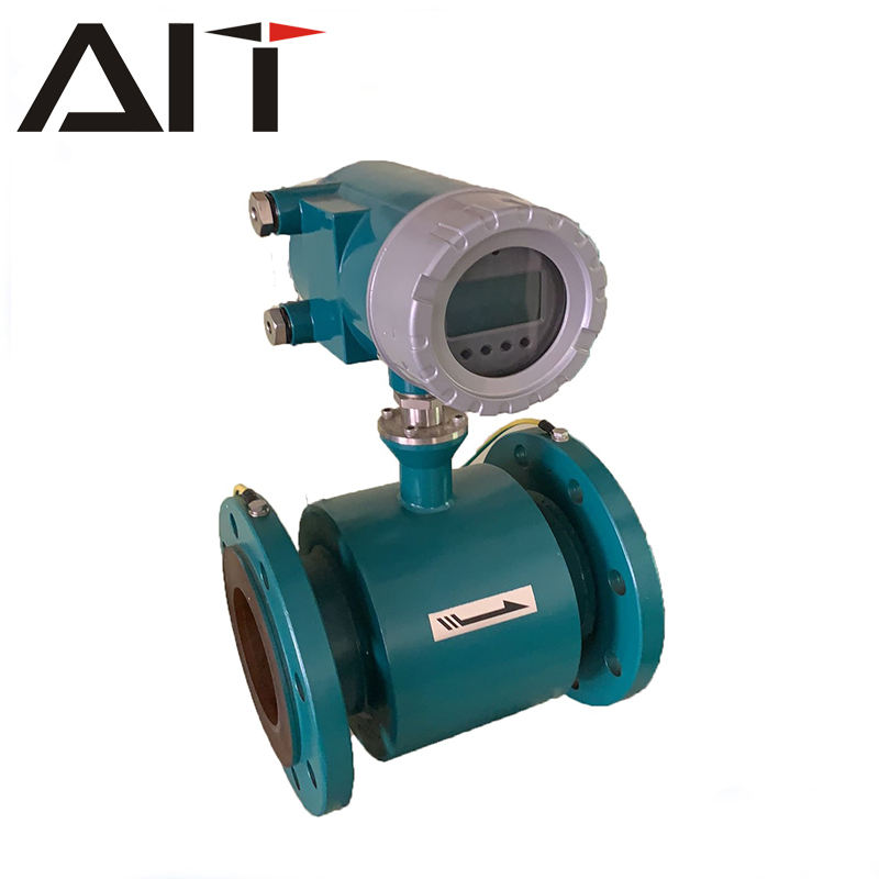 Smart sewage water liquid flow meter electromagnetic LPG flowmeter
