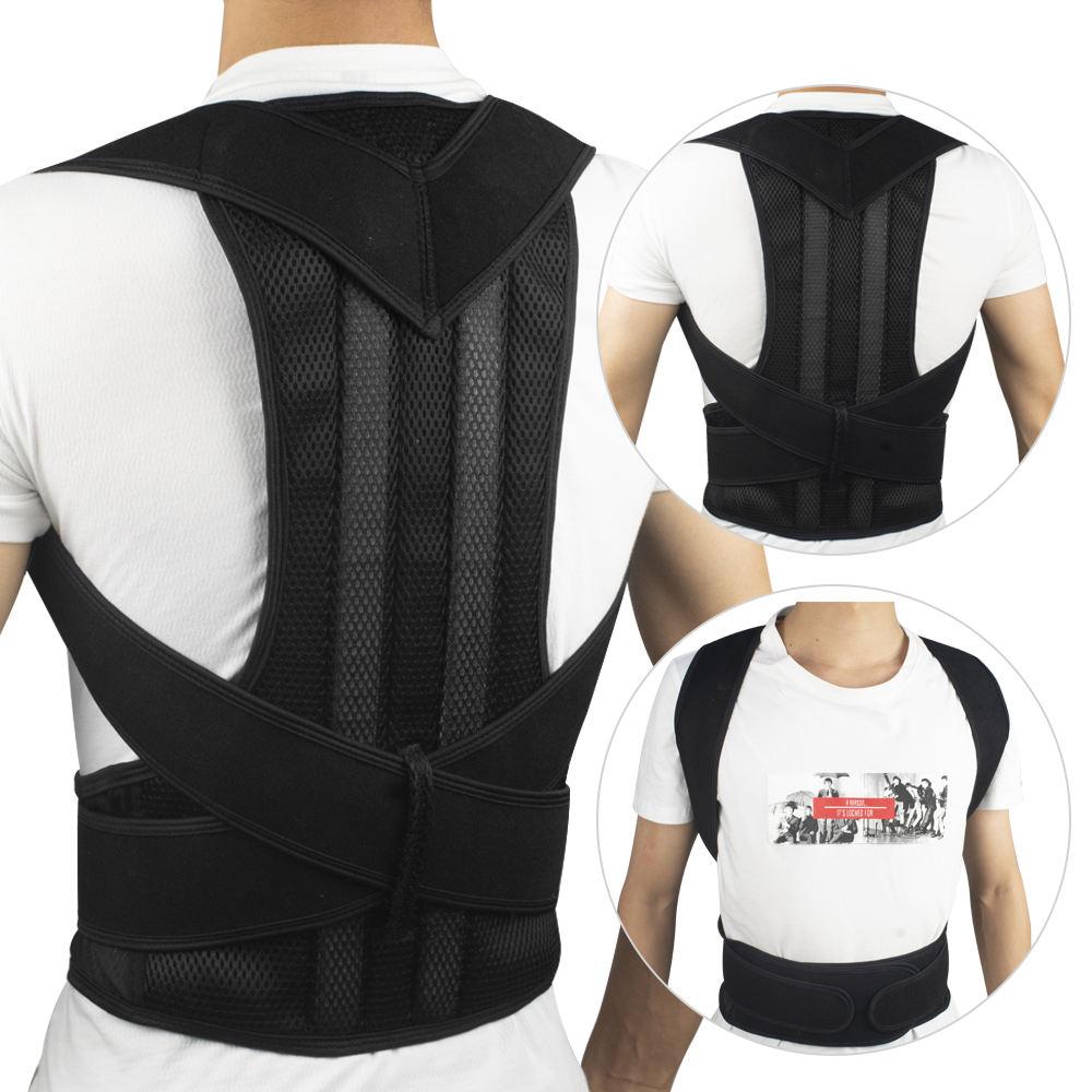 Cintura di sostegno per la schiena della spalla per la correzione della fascia di correzione della spalla per il mal di schiena