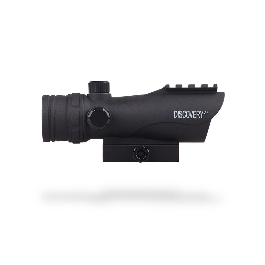 Discovery Optics DISCOVERY-1231 RDA 1X30เลเซอร์Red Dot <span class=keywords><strong>Sight</strong></span>,Base Base