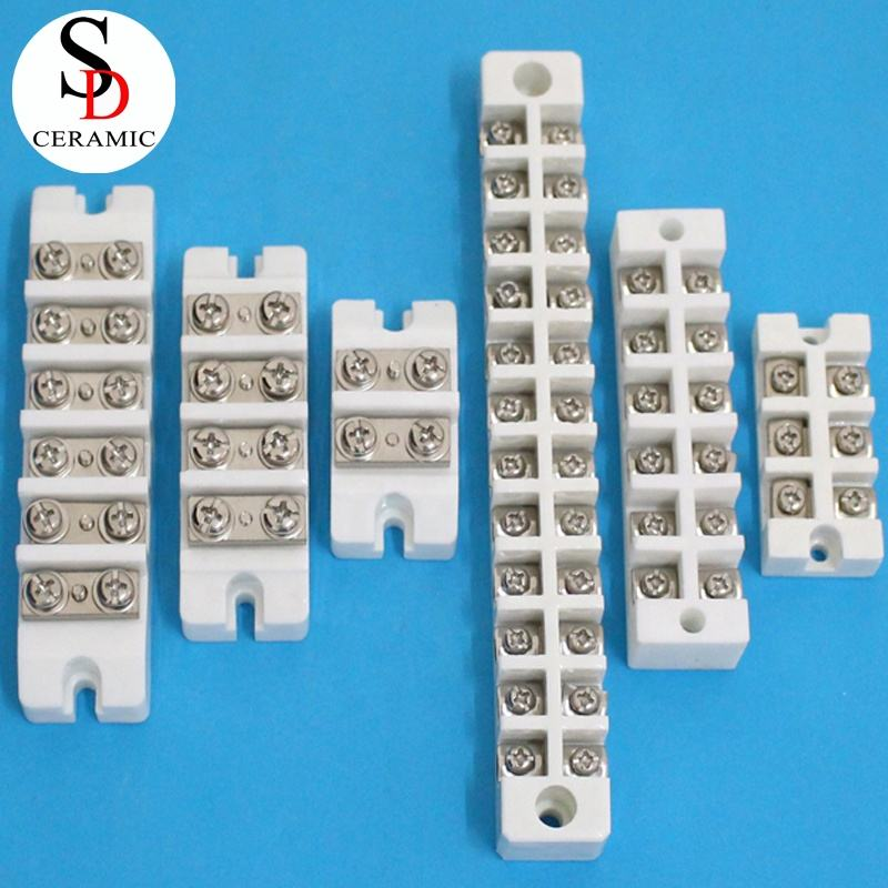 Manufacturer Customized High Heat Resistance Thermocouple Ceramic Terminal Block Connector