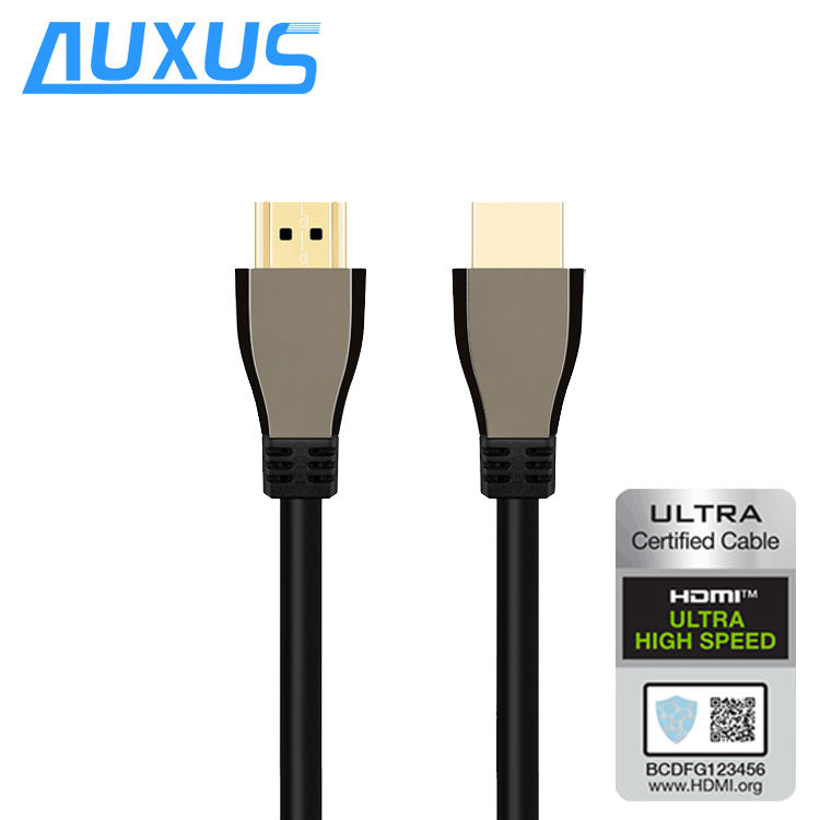Ultra High Speed HDMI to HDMI Cable Certification YUV444 3D 8K@60Hz 4K@120Hz 48Gbps Gold HDMI Cable for PS4