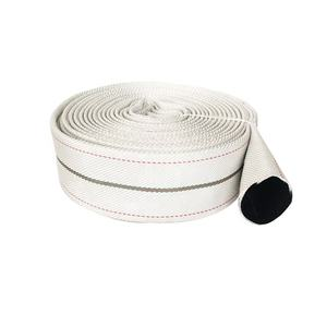 PVC Rubber Fire Hose 1.5 Inch Fire hose 30mm Cotton Canvas Collapsible Fire Hose