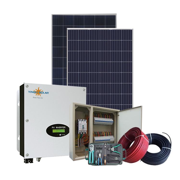 Cina suppliersolar sistemi di energia Rinnovabile domestica di alimentazione off-grid 5kw sistema di energia solare