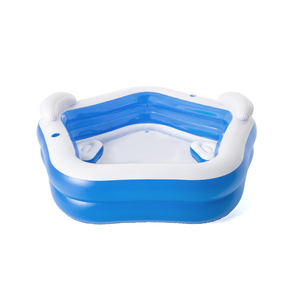2020 Yujing OT3205 PVC Wireless Automatic Inflatable Outdoor Piscinas For Kids and Adult Swimming Pool