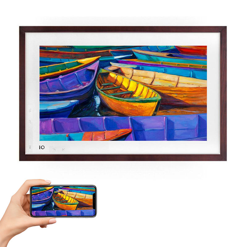 Boe Igallery Frame Intelligente Digitale Art Museum 21.5 Inch Wifi Digitale Fotolijst Android Voor School Restaurant