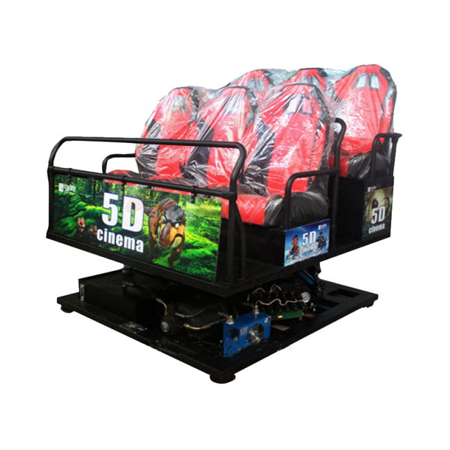 Guangzhou Factory Virtual Reality 5D Cinema Motion Chair 7D Simulator Cinema Equipment 5D Theater