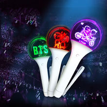KPOP Light Stick BTS EXO LED Flashing Wand Customized Logo and Colors
