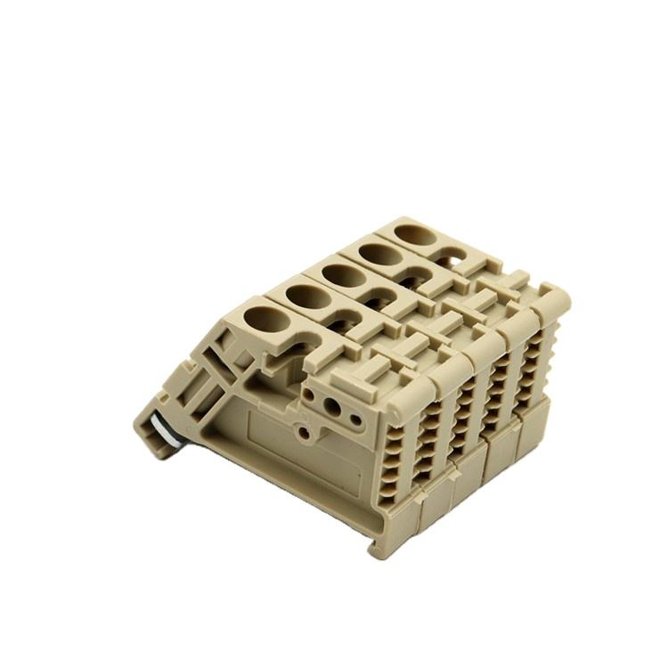 EK4/35 4mm feed through Ground Terminal Blcoks EK4/35 TERMINAL BLOCK DIN RAIL 1POS 14AWG