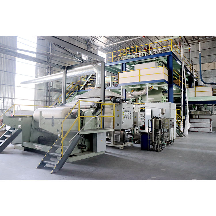 Nonwoven interlining machine ss fabric making sms composite non-woven production line