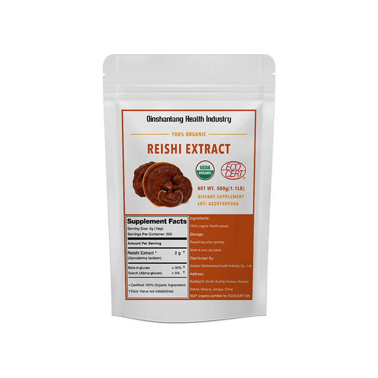 Wholesale Organic Mushroom Extract Supplement Reishi Mushroom
