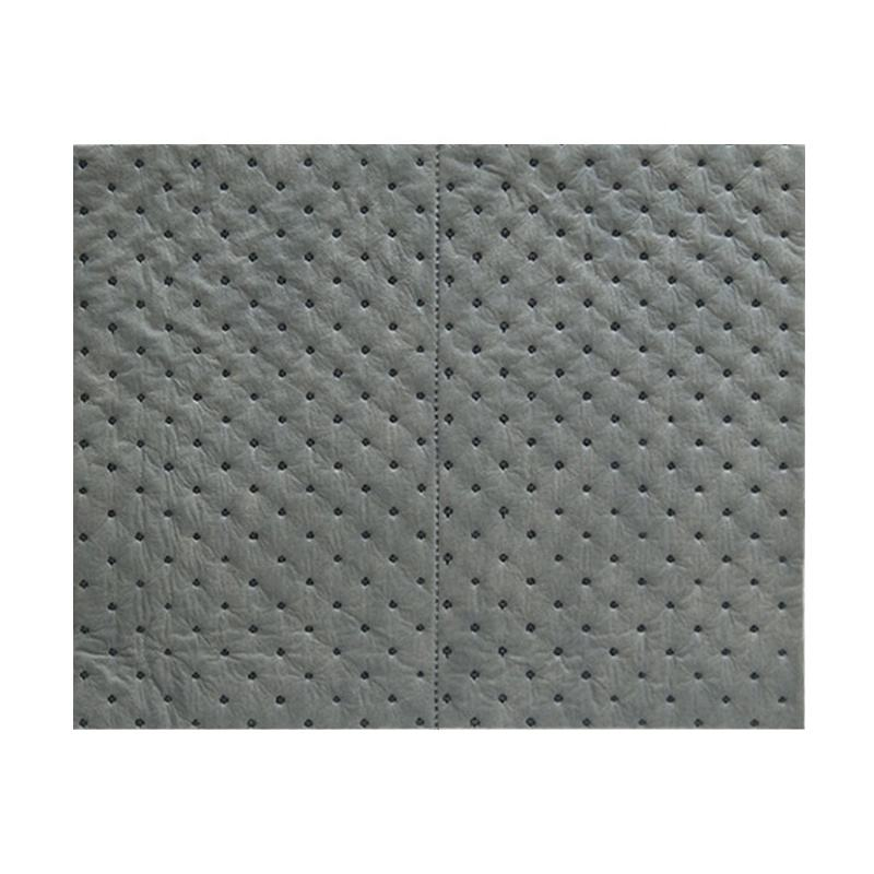 water absorbent sheets oil absorbent pad universal absorbent pad for sale
