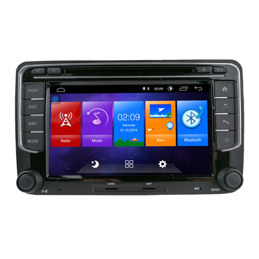 7 inch Android 10,0 car multimedia radio gps für VW/Volkswagen Golf Jetta Polo 2 Din DVD-Player Stereo