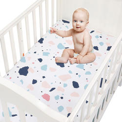 Universal Crib Sheets for Baby Mattress Bedding Sets Breatha