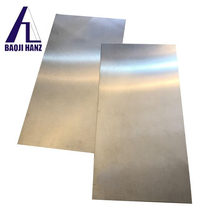 ASTMB265 99.95% pure titanium metal plate for sale