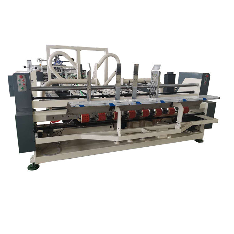 Yun Jin professional corrugated box manufacturing machine/automatic glue stitching machine