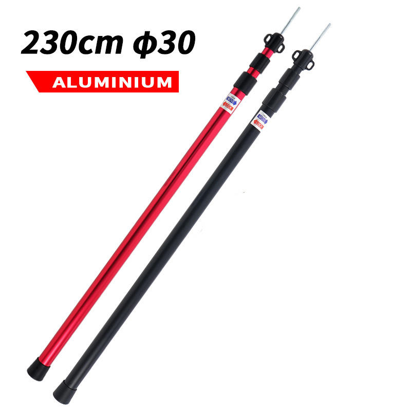 Adjustable Aluminum Tube Telescopic Tent Pole/Tarp Pole/Tent Pole