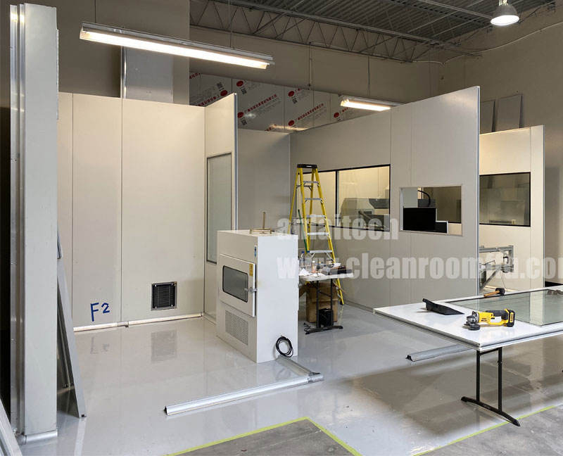 ISO Class 8 Dust free Modular clean room, prefab clean rooms