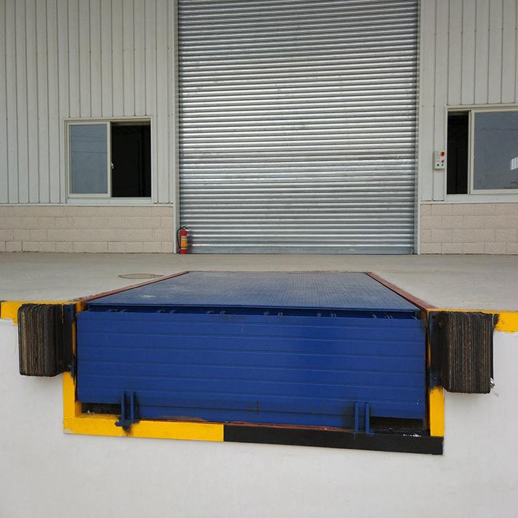6-10ton Hydraulic Stationary Automatic Dock Leveler Loading Dock Ramps