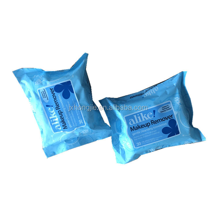 high quality organic nonwoven disposable antibacterial make up remover wet wipesface cleaning wet wipes make up remover wipes