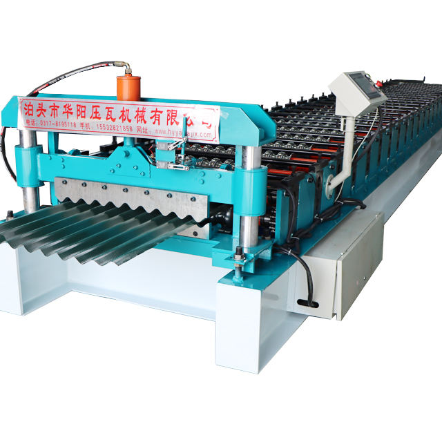 corrugated iron metal roofing sheet curly curving rolling machine
