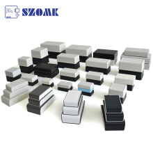 SZOMK custom plastic aluminium enclosure electronic enclosure outdoor waterproof ip65 ip68 enclosure box