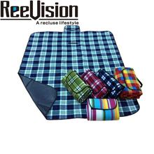 Fleece Picnic Blanket Waterproof Picnic Mat with printing