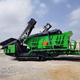 Screen Mobile Screening Plant Tracked Vibrating Screen Complete Functions Well Distributed Discharge Portable