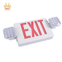 UL cUL listed exit sign prices battery powered emergency combo exit lights