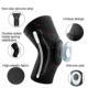 Support Running Knee Support Gym Breathable Comfortable Elastic Knee Pads Compression Knee Support Sleeve Brace For Basketball Fitness Gym Workout Running Sport