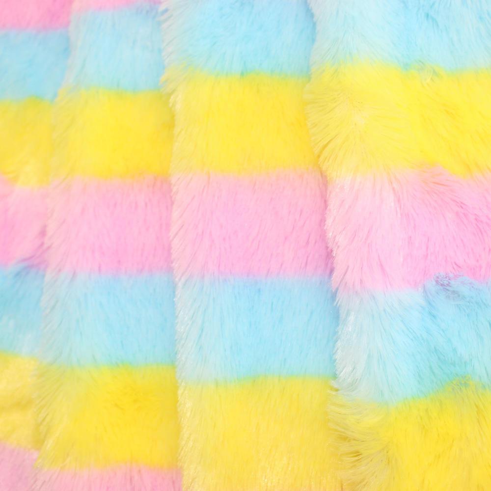 % 100% polyester herhangi bir düz renk pv peluş kumaş şeyler oyuncak ayılar