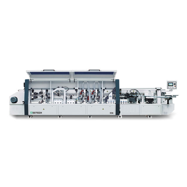 RC-E08 pur edge banding machine Automatic linear PVC Edge Banding Machine