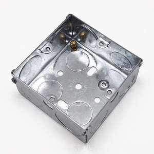 Gi Steel Plate 3X3 Soket Dinding Switch Box