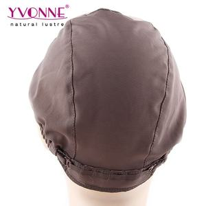 Adjustable Silk Lace Cap For Wig Making, Brazilian Silk Base Wig Cap