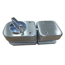 Central  Slide Bolt Latch frameless glass door Lock