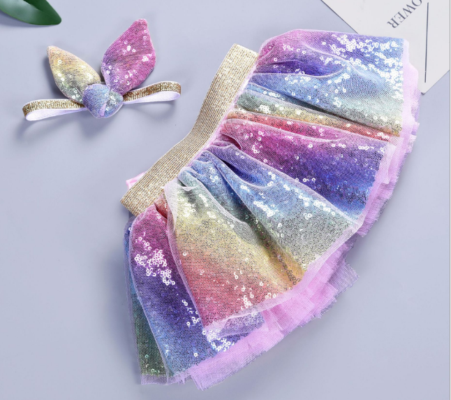 newborn baby girl unicorn tutu skirt