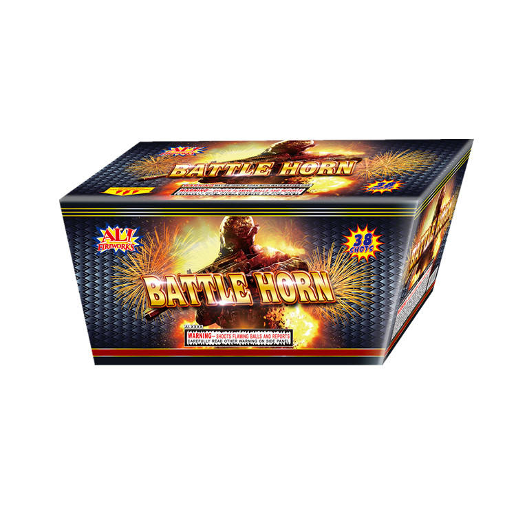 Hot Sale Liuyang Cake Fireworks Wholesale 38 Shots Consumer Fireworks